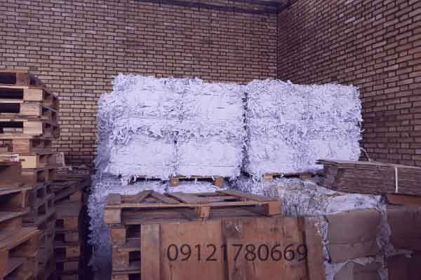 بسته 60 کیلویی پوشال میوه سفید